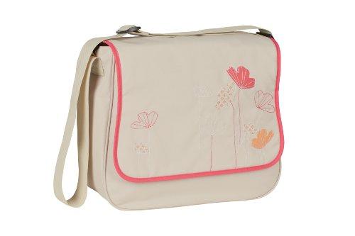 LÄSSIG Baby Wickeltasche Babytasche Kliniktasche Stylische Tasche Mama inkl. Wickelzubehör/Basic Messenger Bag, Poppy sand