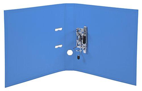 Exacompta 53054E Premium Kunststoff-Ordner (PVC, 2 Ringe, Rücken 50 mm, DIN A4) 10 Stück Farbkombination - 5