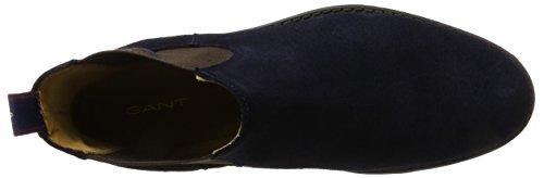 GANT Herren Oscar Chelsea Boots Blau (Marine)