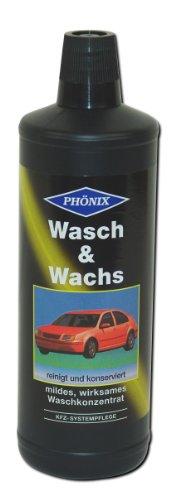 PHÖNIX Wasch & Wachs KFZ Auto Pflege Waschkonzentrat Reinigen Konservieren (Grundpreis: 6,49 € / Liter)