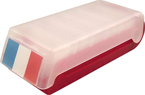 helit boîte de carte Flash pour 800 cartes Beebox A7 – Rouge