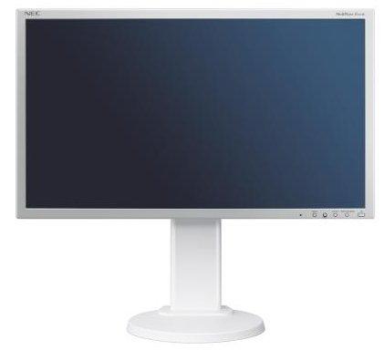 NEC MultiSync EA275WMi 68,5CM 27Zoll LCD White Monitor LED Backlight IPS Panel 2560x1440 DVI-I DisplayPort HDMI DP Out Height Adjust Nec Multisync Flat-panel-display