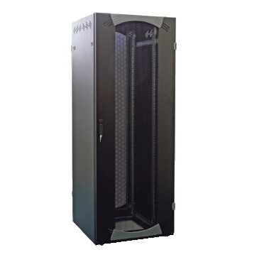 T1000 Server (Schneider NSYVDS24U810N Server-Rack, bodensth. 24HE B800 T1000 befestigt 19