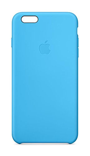 Apple MKXJ2ZM/A iPhone 6 Plus/6S Plus Silikon Hülle anthrazit hellblau