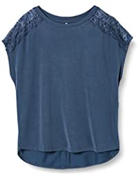 Only Onlfree Life S/S Lace Top Jrs T-Shirt Donna