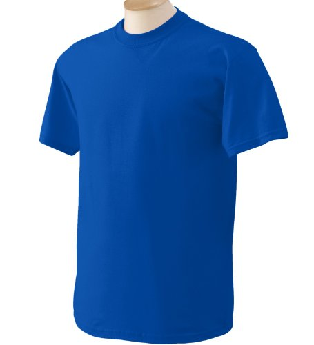 Gildan - Heavy Cotton - Maglietta Manica Corta - Uomo US X-Large,Royal