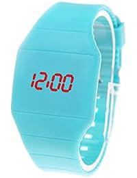 Reloj De Pulsera De Mujer Reloj Ultra-Delgado Touch Led Reloj Digital para Mujer Fahion