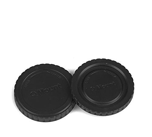 Pentax Q Mount Gehäusedeckel & Objektivrückdeckel Gehäuse Deckel Kappe Body Cap - Pentax Kamera-objektiv Für