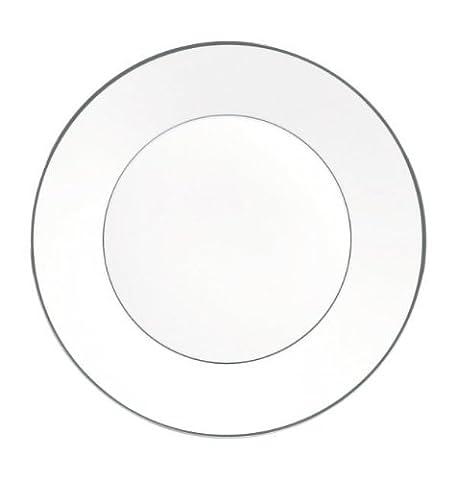 Jasper Conran 5016169541 Platinum Fine Bone China 9 Plate by Jasper Conran