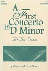 A First Concerto in D Minor by Heritage Music Press (Heritage Music Press)