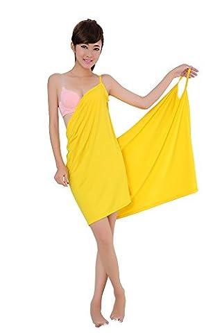 Dorapocket Sexy Deep V Sling Beach Bikini Smock Bathrobes Spa Skirt Sleep Dress