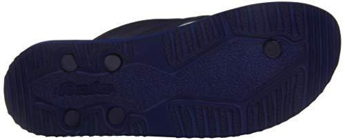 Buy BATA Men's Reflex Blue Flip-Flops-7