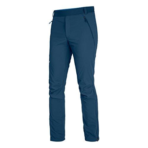 Salewa, pantaloni elasticizzati da uomo Pedroc Stormwall Dura Poseidon