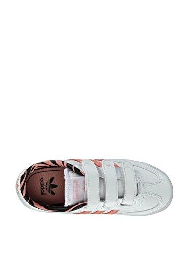 Adidas, Dragon CF C, Scarpe Per Bambini, Unisex - Bambino Ftwwht/Stfaro/Black