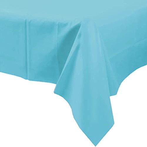 Unique Party 5076 Einweg-Tischdecke aus - Tisch Kunststoff-tischdecke Für Blaue
