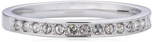 Swarovski Damen-Ring Metall Swarovski-Kristall weiß Gr.55 (17.2) 1121067