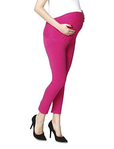 Maternity leggings in fushia