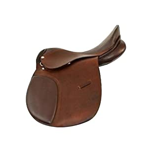 Liverpool Campale Eventing Saddle Leather/Brown