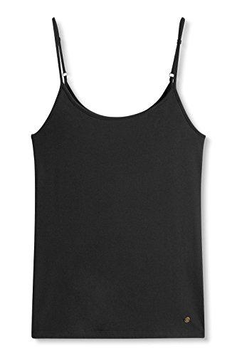 Esprit 996ee1k907, Débardeur Femme Noir (BLACK 001)