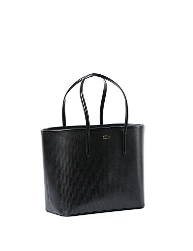 Lacoste NF1220CE Damen Shopper 33x28x16 cm (B x H x T) Schwarz (WITHOUT COLOR 000)