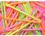 Rainbow Dust Candy Straws - 13cm long - PACK OF 30 Assorted