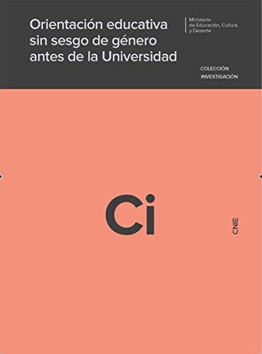 Orientación educativa sin sesgo de género antes de la universidad por Fefa Vila Núñez