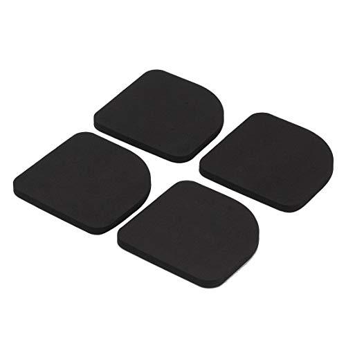 4 stücke Washer Shock Slip Matten Reduzieren Kühlschrank Anti-Vibration Noise Pad Waschmaschine Shock Proof Mat