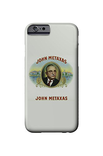 john-metaxas-brand-cigar-box-label-iphone-6-cell-phone-case-slim-barely-there