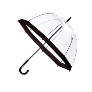 new-clear-dome-see-through-umbrella-black-improved-design