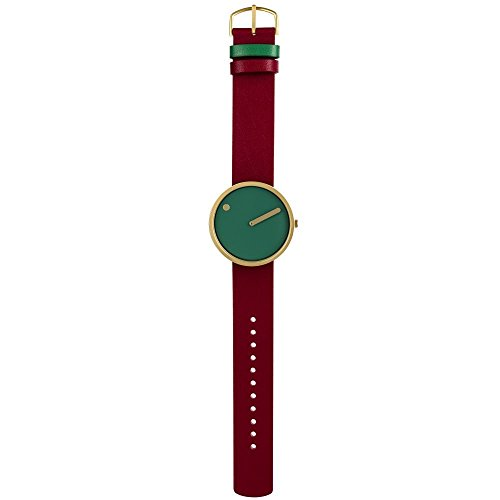 Rosendahl Unisex-Armbanduhr Picto Analog Quarz Leder 43377