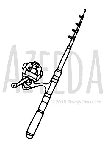 A7 'Angelrute' Stempel (Unmontiert) (SP00011661)