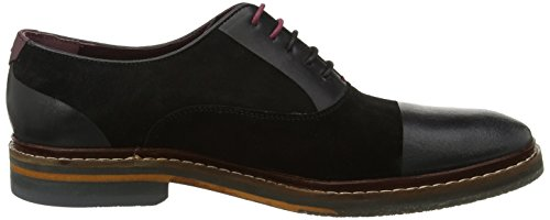 Ted Baker Mens Saskat Oxford Stringate Nero (nero)