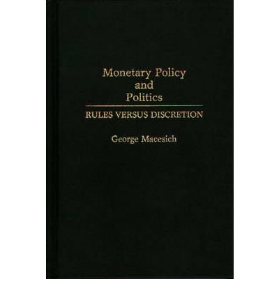 By George Macesich ( Author ) [ Monetary...