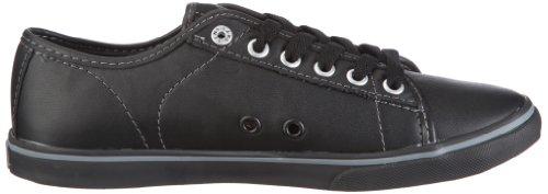 Vans W FERRIS LO PRO VJW0LA4, Sneaker donna Nero (Schwarz/(Leather) black/chrome)