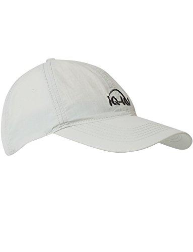 iQ-UV Erwachsene 200 Sonnenschutz Cap Uv-Schutz Kappe, Grey, 55-61cm -