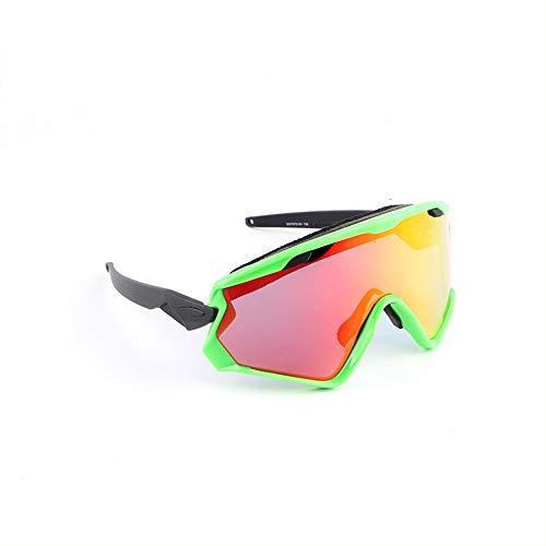 XINLAI HD 7-Layer Protective Layer Multi-Color Goggles Explosion-Proof Riding Glasses UV Protection Windproof Dustproof Sunglasses Outdoor Sports Goggles (F) -