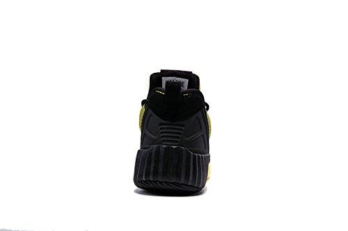 Onemix L'uomo Nero L'allenamento Su 40 Giallo Corsa Scarpe Strada Per 45 Da FxqawF