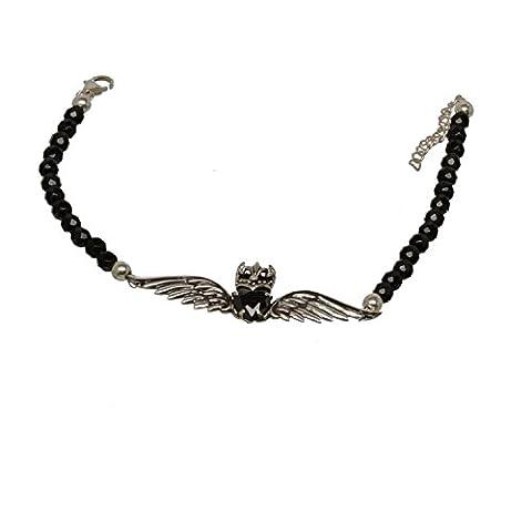 Bouddha to Light Onyx Bracelet avec chaîne–Argent emblème eie 159eur