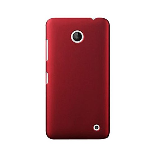 WOW Imagine Rubberised Matte Hard Case Back Cover For Nokia Lumia 638 / 630 (Maroon Wine Red)  available at amazon for Rs.149