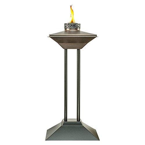 Tiki® Cordoba Terrassenfackel, Metall, 71 cm, bronzefarben