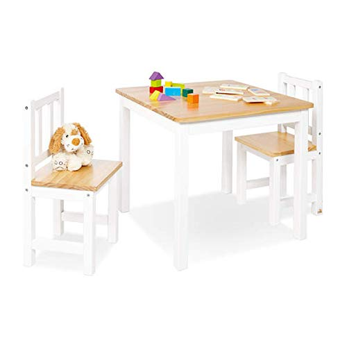 Pinolino 201434 Kindersitzgruppe Fenna,  weiß/natur ,3-tlg