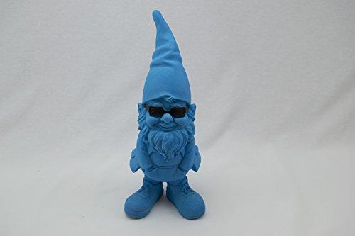 """be4To®GARTENZWERG""""GLOW IN THE DARK"""" XXL 30 CM (Blau) - 2"""