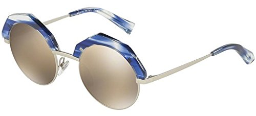 Alain Mikli Sonnenbrillen SITELLE 0A04006 BLUE LIGHT GOLD/LIGHT BROWN GOLD Damenbrillen