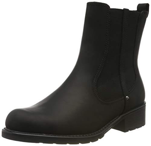 Clarks Damen Orinoco Hot Biker Boots, Schwarz (Black Nubuck), 42 EU