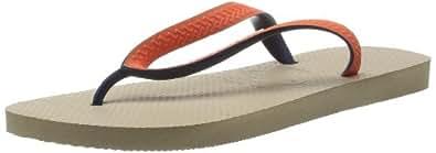Havaianas Top Mix Sandal - Sandy Grey/Blue Beige Beige (sand grey/blue 0038) Size: 35/36