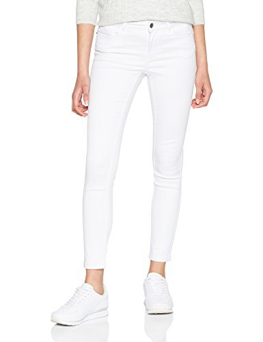 Vmseven NW S Shape UP Jeans White Noos, Weiß (Bright White Bright White), W40/L32 (Helle Jeans Für Frauen)