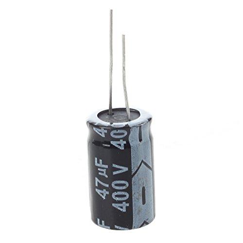 RETYLY 5 STK.400v 47uf 18 X 20mm Aluminium Elektrolyt Kondensator -