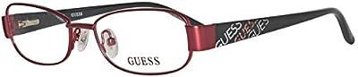Guess Brille GU9098 48P33 Monturas de gafas, Rojo (Rot), 48 Unisex Niños