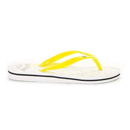 Tommy Hilfiger - M1285ONICA 48R - FW56820729720 - Farbe: Gelb-Weiß - Größe: 37.0 -