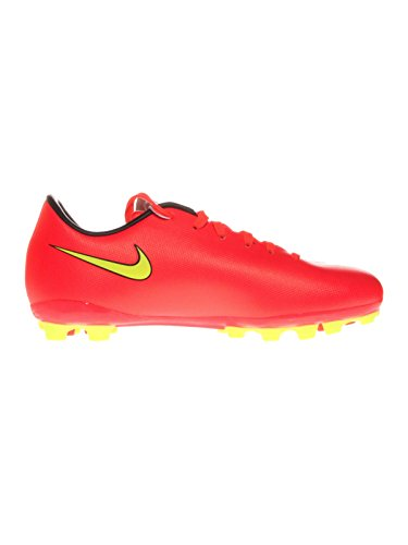 Nike  Junior Mercurial Victory V AG, Chaussures de football mixte enfant - neonrot
